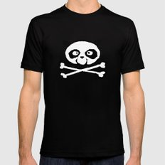 Logo SMALL Black Mens Fitted Tee