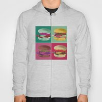 Pop Art Burger #2 Hoody