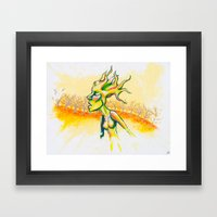 Fall-En Framed Art Print