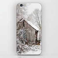 The Wooden Shed iPhone & iPod Skin