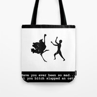 Mad at ostrich Tote Bag