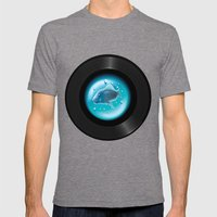 Fish Pop (Vinyl Aquarium… Mens Fitted Tee Tri-Grey SMALL