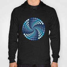Blue Circles - Optical Game 10 Hoody