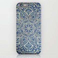 Gold Mandala on Blue Jeans Slim Case iPhone 6s