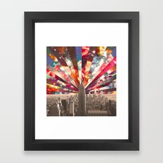 Superstar New York Framed Art Print