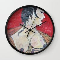 PORTRAIT OF A LADY EXPOS… Wall Clock