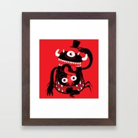 Mister Monster Framed Art Print