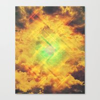 Its In The Clouds Canvas Print