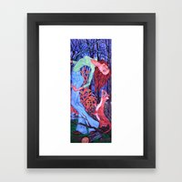 Midnight Dance With An O… Framed Art Print