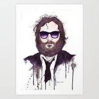 Joaquin Phoenix Art Print
