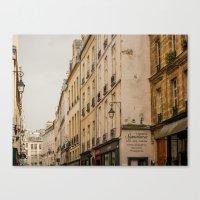 Paris streets I Canvas Print