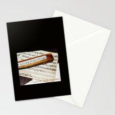 I love the piano Stationery Cards