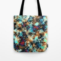 Alcohol Ink Abstract Ear… Tote Bag