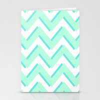 3D CHEVRON Stationery Cards