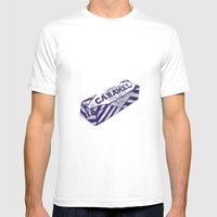 Caramel Wafer Pen Drawin… Mens Fitted Tee White SMALL