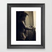 Curious V.4 Framed Art Print