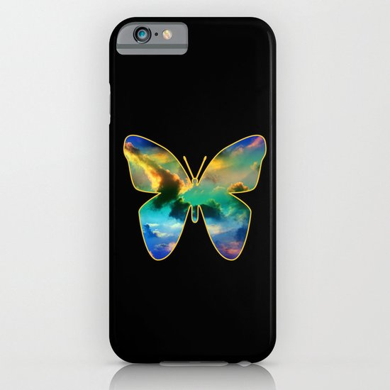 CLOUD BUTTERFLY iPhone & iPod Case
