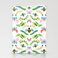 Caterpillars Stationery Cards