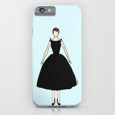 Audrey Hepburn Vintage Retro Fashion 1 iPhone 6 Slim Case