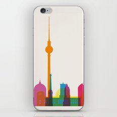 Shapes of Berlin accurate to scale iPhone & iPod Skin
