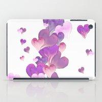 FALLING HEARTS iPad Case