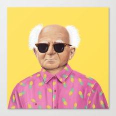 The Israeli Hipster leaders - David Ben Gurion Canvas Print