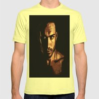 The Look Mens Fitted Tee Lemon SMALL