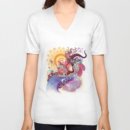 Koi V-neck T-shirt
