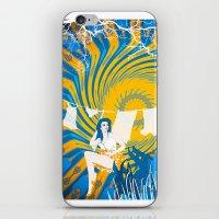Hot Morning iPhone & iPod Skin