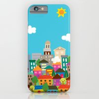 iPhone & iPod Case featuring happytown by Jill Howarth