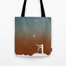 Through the Telescope Tote Bag