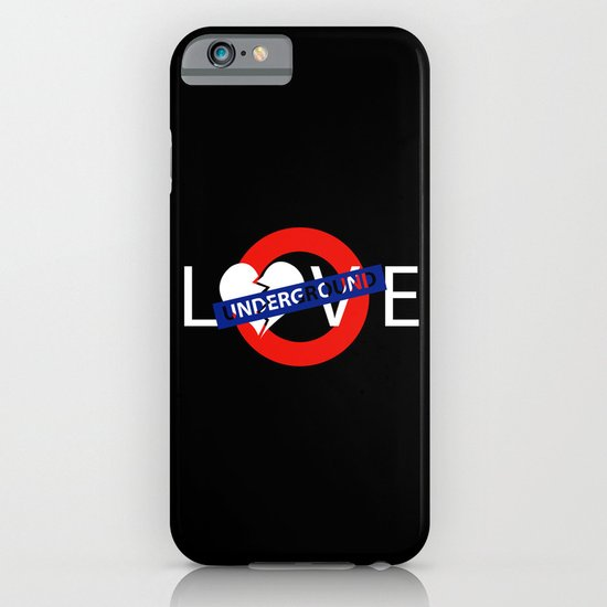 UNDERGROUND LOVE iPhone & iPod Case