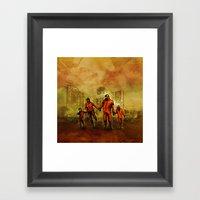Smoglifter Framed Art Print