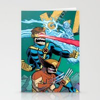 X-Men! Stationery Cards