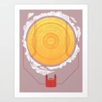 Sundome Art Print