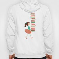 Library Girl Hoody
