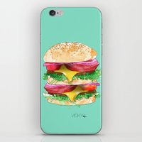 California Burger iPhone & iPod Skin