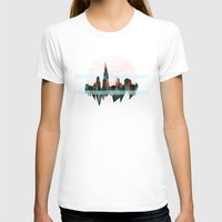 chicago T-shirts featuring Chicago by black out ronin