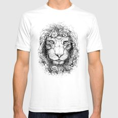 King of Nature Mens Fitted Tee White SMALL