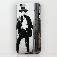 BANKSY  iPhone & iPod Skin