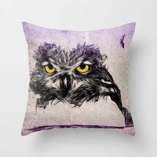 The Sudden Awakening of Nature Throw Pillow