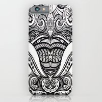 iPhone & iPod Case featuring Let's Tessellate by GBret