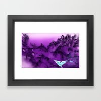 If The Wind Was Warm Framed Art Print