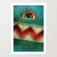 I see You!  Art Print