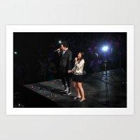 Glee Concert: Lea Michel… Art Print
