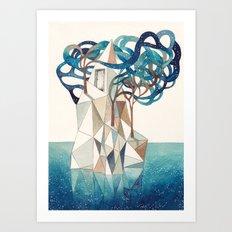 Iceberg II Art Print