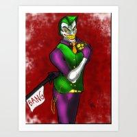 Joker - Joke's On You - … Art Print