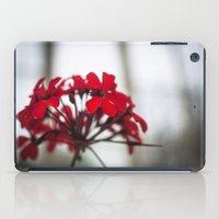 Red Flower iPad Case