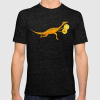 Cymbal-o-saurus! Mens Fitted Tee Tri-Black SMALL