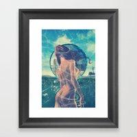 Drowned World Framed Art Print